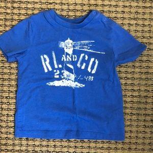 Ralph Lauren 12M t shirt.
